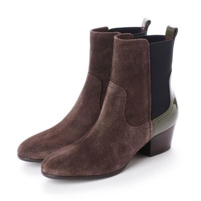 シューズラウンジ shoes lounge ショートブーツ 2676304BRS/ (ブラウン)
