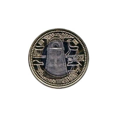 地方自治法60周年記念 バイカラー・クラッド 『島根県』 500円記念貨