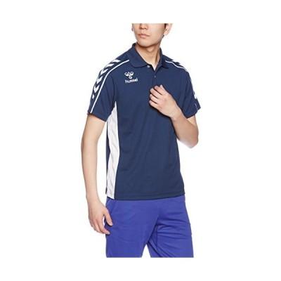 ヒュンメルhummel ポロシャツ HAP3035 70 ネイビー S