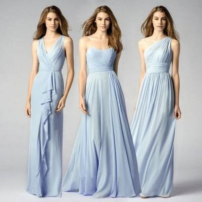 ロングドレス Long dress ドレス 二次会 花嫁 結婚式 ウェディングドレス 二次会 ウエディング ミニドレス 花嫁ドレス ブライズメイド ドレス ロング