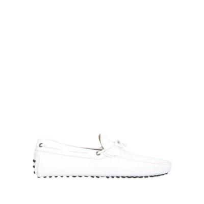 トッズ TOD'S メンズ ローファー シューズ・靴 loafers White