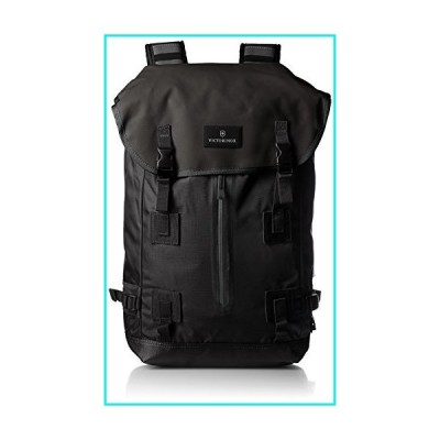 Victorinox Altmont 3.0 Flapover Drawstring Laptop Backpack, Black, 18.8-inch【並行輸入品】