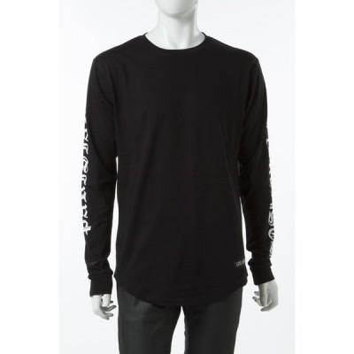 レスアーティスト LES ART ISTS ロングTシャツ ロンT 長袖 丸首 メンズ LA04TML84BK ブラック 目玉商品
