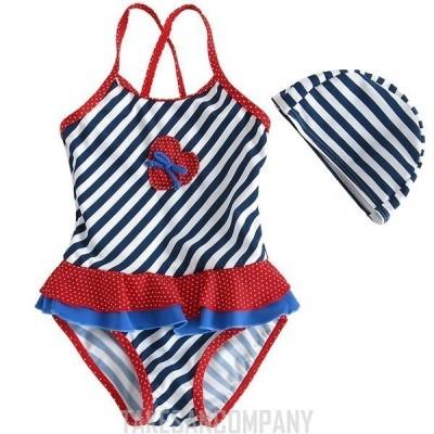 可愛子供水着セット スイムウェア キッズ 水着 ガールズ ウェットスーツ ジュニア 女の子 海へ ワンピース水着 練習用水着 トップスセット 長袖 パンツセット