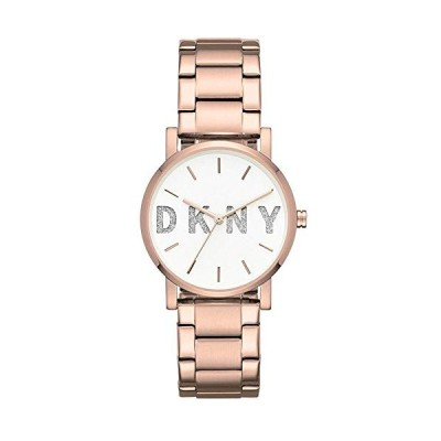 DKNY Womens Analogue Quartz Watch with Stainless Steel Strap NY2654 並行輸入品