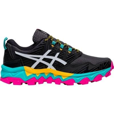 アシックス ASICS レディース ランニング・ウォーキング シューズ・靴 GEL-Fujitrabuco 8 Trail Running Shoes Black/White/Pink