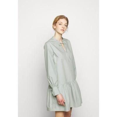 セカンド デイ ワンピース レディース トップス 2ND AXEL THINKTWICE - Day dress - puritan grey