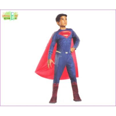 【キッズ】スーパーマン【M】【SUPERMAN】【バットマンVSスーパーマン】【ジャスティスの誕生】【DC】【ハロウィン】【コスプレ】【コス