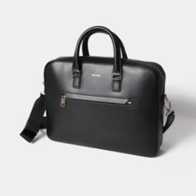 ポールスミス Paul Smith メンズ ビジネスバッグ ブリーフ MEN BAG FOLIO EMBOSS 黒 ブラック BLACK M1A-5741-A40190【送料無料】
