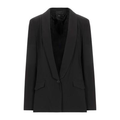PLEASE テーラードジャケット ブラック L ポリエステル 88% / ポリウレタン 12% テーラードジャケット