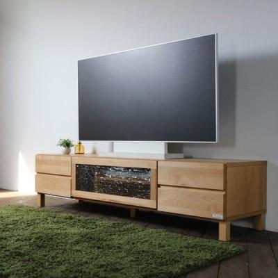 ・LB・テレビ台 160cm テレビボード ローボード 北欧 完成品 ナチュラル  幅 160 奥行45 高さ39cm  国産 日本製 無垢材 アルダー