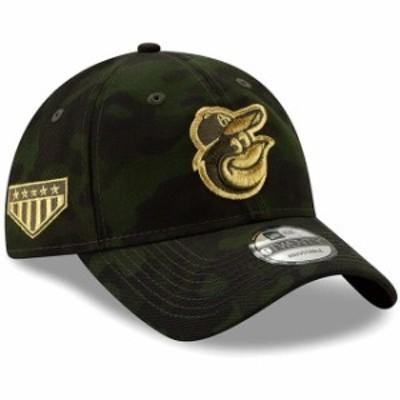 New Era ニュー エラ スポーツ用品  Baltimore Orioles New Era 2019 MLB Armed Forces Day 9TWENTY Adjustable Hat - Camo