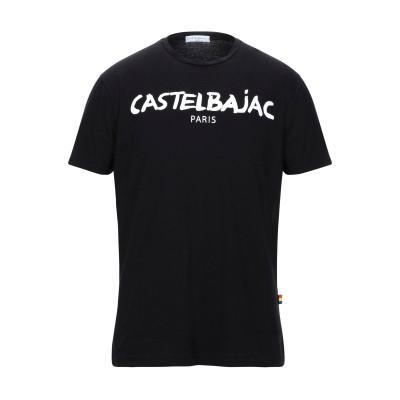 カステルバジャック CASTELBAJAC T シャツ ブラック M コットン 100% T シャツ