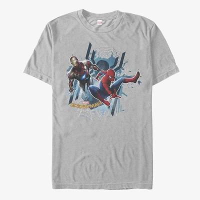 スパイダーマン Tシャツ マーベル Marvel レディース メンズ兼用 半袖