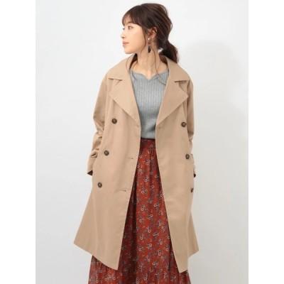 アウター 【pchocol raffine robe】スプリングコート