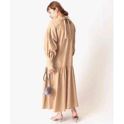 【スピック&スパン】 ギャザー切り替えドレス◆ レディース ベージュ 36 Spick & Span
