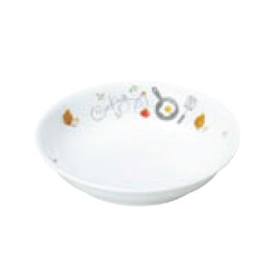 リ・おぎそ 子ども食器シリーズ 皿 13.2cm 1147-1240 高さ28(mm)/業務用/新品