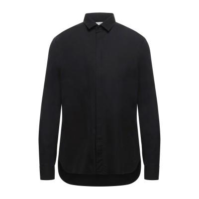SAINT LAURENT シャツ ブラック 38 コットン 100% シャツ