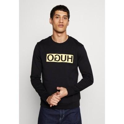 フューゴ パーカー・スウェットシャツ メンズ アウター DICAGO - Sweatshirt - black