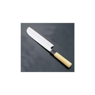 堺 孝行 シェフ和庖丁 銀三鋼 鎌型薄刃(片刃)18cm