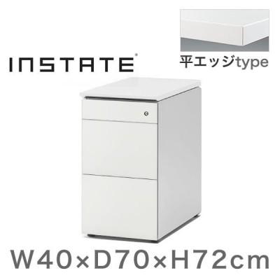 インステート 脇机 スチール塗装 平エッジ イトーキ ITOKI 自社便 開梱 設置付