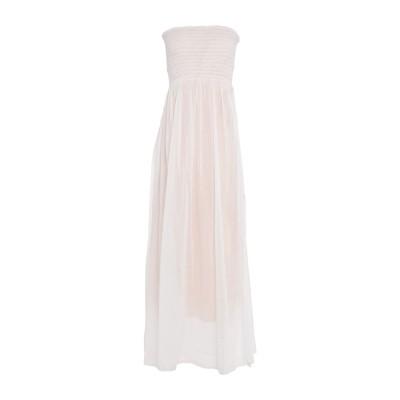 フォルテ フォルテ FORTE_FORTE ロングワンピース&ドレス ホワイト 1 コットン 70% / シルク 30% ロングワンピース&ドレス