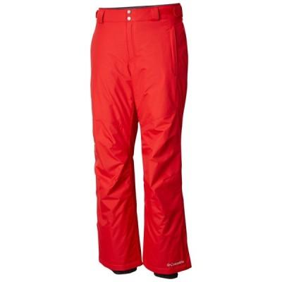 コロンビア Columbia メンズ ボトムス・パンツ スキー・スノーボード Bugaboo II Extended Size Ski Pants 2019 Red Spark