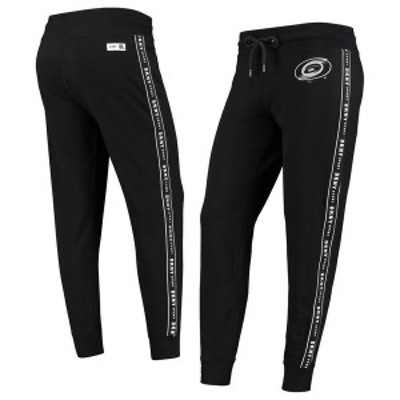 ダナ キャラン ニューヨーク レディース カジュアルパンツ ボトムス Carolina Hurricanes DKNY Sport Women's Brooke Jogger Pants Black