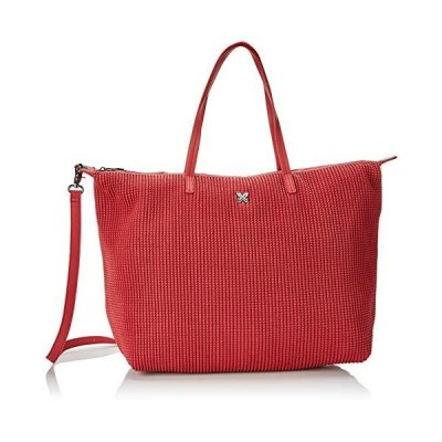 Munich SHOPPING BIG RICE, Women's Shoulder Bag, Red, 17x36x50 cm (W x H L) 並行輸入品