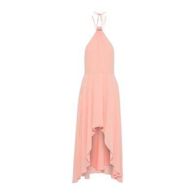 HAUTE HIPPIE ミニワンピース&ドレス ライトピンク XS ポリエステル 100% ミニワンピース&ドレス