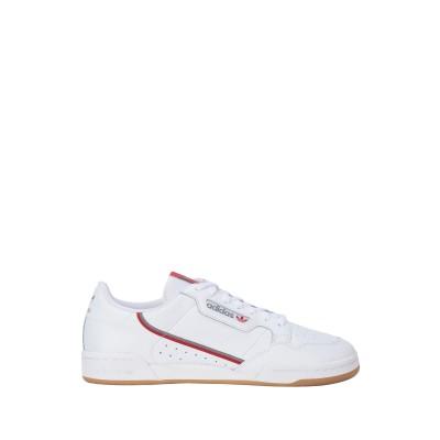 ADIDAS ORIGINALS スニーカー&テニスシューズ(ローカット) ホワイト 7 革 / 紡績繊維 スニーカー&テニスシューズ(ローカット)