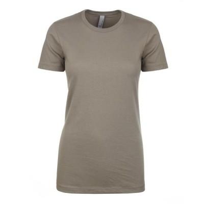 ユニセックス 衣類 トップス The Next Level Ladies Ideal T-Shirt - WARM GRAY - XS Tシャツ