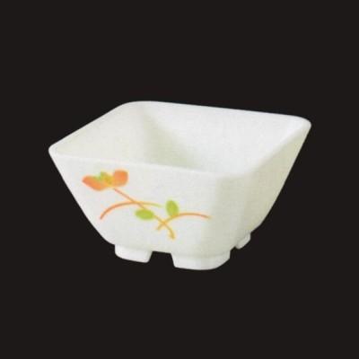 陶セラ 9.5cm末広角鉢・赤絵 PBT樹脂製