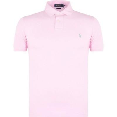 ラルフ ローレン Polo Ralph Lauren メンズ ポロシャツ スリム トップス Slim Fit Stretch Mesh Polo Shirt Pink