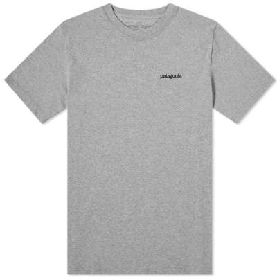 パタゴニア Patagonia メンズ Tシャツ トップス Fitz Roy Horizons Responsibili-Tee Gravel Heather