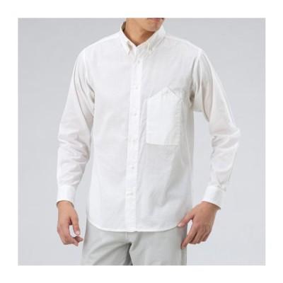 ミズノ マジックドライトラベルシャツ[メンズ] 01&nbspスノーホワイト(b2mc001001)