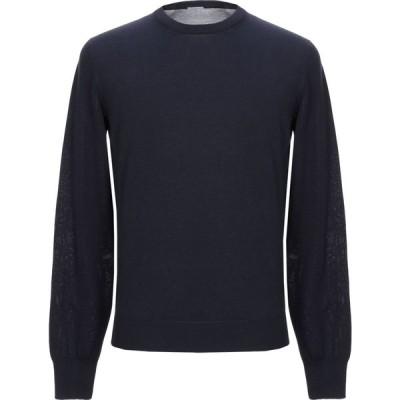 マーロ MALO メンズ ニット・セーター トップス sweater Dark blue