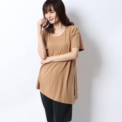 ティゴラ TIGORA レディース 半袖Tシャツ デザインチュニックTシャツ(半袖) TR-9P2220TS