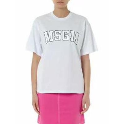MSGM レディースその他 MSGM White Cotton T-shirt White