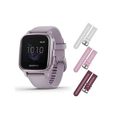 Garmin Venu Sq GPS Fitness Smartwatch and Included Wearable4U 3 Straps Bund好評販売中