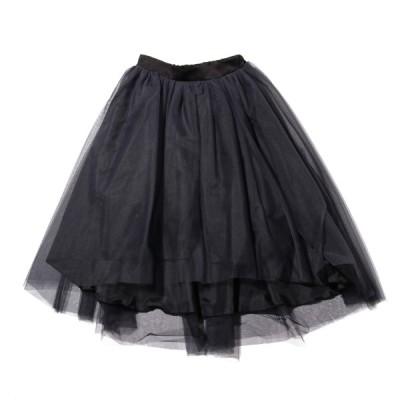 アトモスピンク atmos pink スカート オーガンジーボリュームスカート (BLACK) 19FA-I at20-c