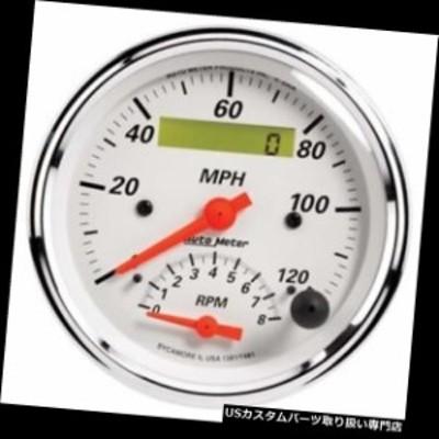 タコメーター オートメーター1381北極白空芯タコメーター/スピードメーター    erコンボゲージ  Au