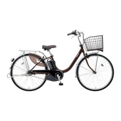 PANASONIC BE-ELL432-T チョコブラウン ビビ・L [電動アシスト自転車(24インチ・内装3段)]