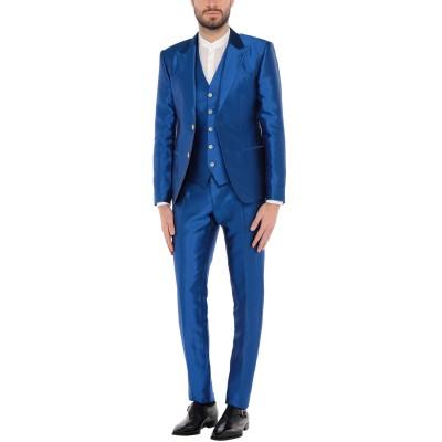 ドルチェ & ガッバーナ DOLCE & GABBANA スーツ ブライトブルー 48 シルク 100% スーツ
