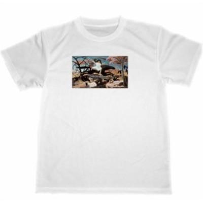 戦争 アンリ・ルソー ドライ Tシャツ 名画 絵画