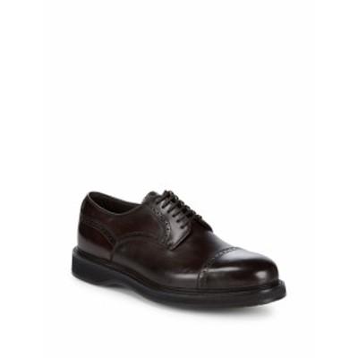 ブリオーニ メンズ シューズ オックスフォード 革靴 Goodyear Brogue Derby Shoe