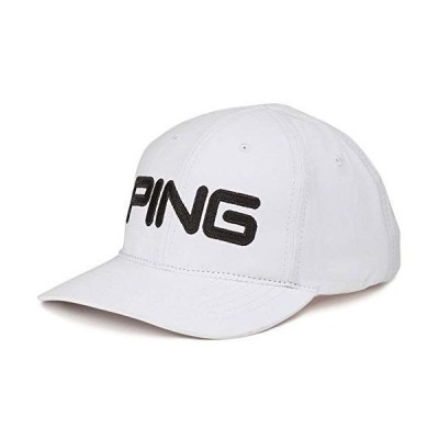 2020 PING ピン Light Cap フリーサイズ ホワイト/ブラック(01) キャップ 34697 USモデル