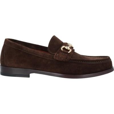 ヘンダーソン バラッコ HENDERSON BARACCO メンズ ローファー シューズ・靴 loafers Dark brown