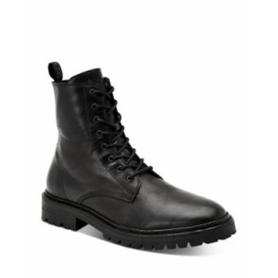 オールセインツ メンズ ブーツ・レインブーツ シューズ Men's Tobias Combat Boots Black