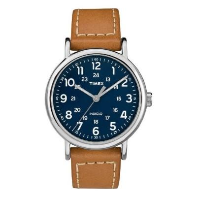 TIMEX タイメックス ウィークエンダー 40MM メンズ TW2R42500 腕時計 レディース ミリタリー アナログ ネイビー ブラウン 茶 レ